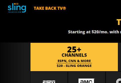Sling TV Trending