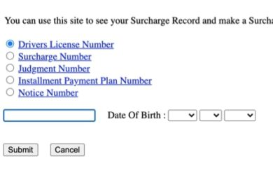 Pay NJ Surcharge - www.njsurcharge.com
